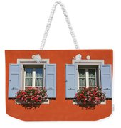 Pair Of Blue Shutters Weekender Tote Bag