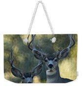 Pair Of Bucks Weekender Tote Bag