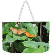 Pair Of Butterflies Weekender Tote Bag