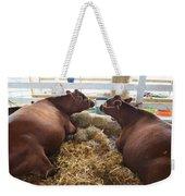 Pair Of Cows Weekender Tote Bag