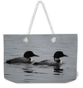 Pair Of Loons Weekender Tote Bag