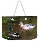 Pair Of Mallard Duck 10 Weekender Tote Bag