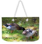 Pair Of Mallard Duck 7 Weekender Tote Bag