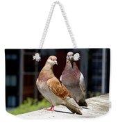 Pair Of Pigeons Weekender Tote Bag