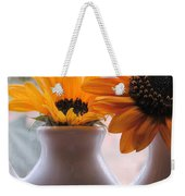 Pair Of Sunflowers Weekender Tote Bag