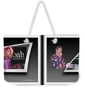 Pajama Night - Gently Cross Your Eyes And Focus On The Middle Image Weekender Tote Bag