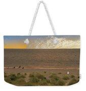 Pakefield Beach Sunset Weekender Tote Bag