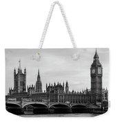 Palace Of Westminster And Elizabeth Tower Weekender Tote Bag