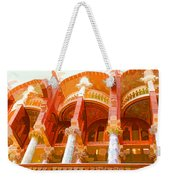 Palau De La Musica Catalana Window Weekender Tote Bag
