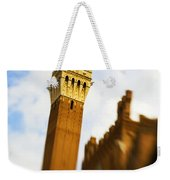 Palazzo Pubblico Tower Siena Italy Weekender Tote Bag