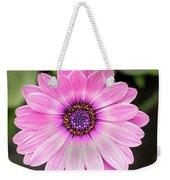 Pale Purple Flower Weekender Tote Bag