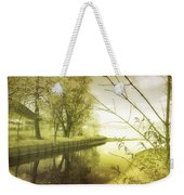 Pale Reflections Of Life Weekender Tote Bag
