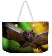 Pale Spear-nosed Bat In The Amazon Jungle Weekender Tote Bag