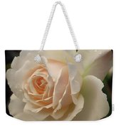 Pale Yellow Rose After The Rain - Glow Weekender Tote Bag