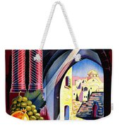 Palestine Travel Poster Weekender Tote Bag