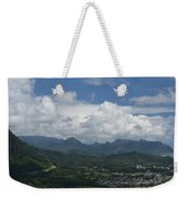 Pali Overlook Weekender Tote Bag