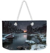 Palisades First Snow Weekender Tote Bag