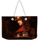 Pallas Athena  Weekender Tote Bag by Rembrandt