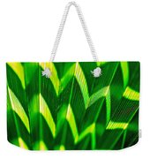 Palm Abstract Weekender Tote Bag