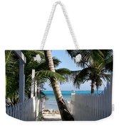 Palm Alley Weekender Tote Bag by Karen Wiles