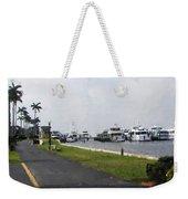 Palm Beach Marina Weekender Tote Bag