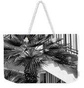 Palm Chevron Palm Springs Weekender Tote Bag