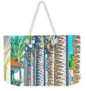 Palm Columns Weekender Tote Bag