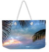 Palm Curtains Weekender Tote Bag