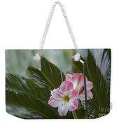Palm Flower Weekender Tote Bag