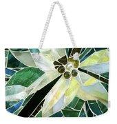 Palm Flower Mosaic Weekender Tote Bag