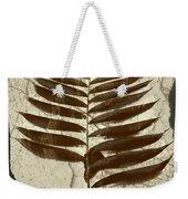Palm Fossil Sandstone  Weekender Tote Bag
