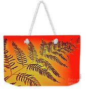 Palm Frond In The Summer Heat Weekender Tote Bag