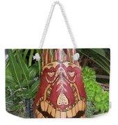 Palm Frond Tiki Weekender Tote Bag
