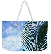 Palm Fronds And Clouds Weekender Tote Bag