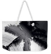 Palm In Grey Weekender Tote Bag