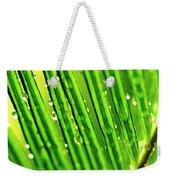 Palm Leaf Weekender Tote Bag