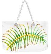 Palm Leaf Watercolor Weekender Tote Bag