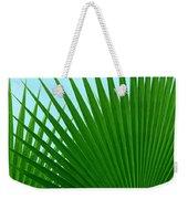 Palm Leaves Weekender Tote Bag