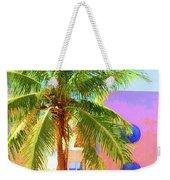 Palm Of Miami Weekender Tote Bag