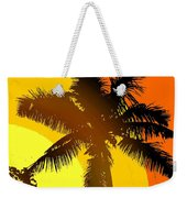 Palm On The Half Shell Weekender Tote Bag