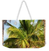 Palm Portrait Weekender Tote Bag