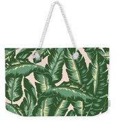 Palm Print Weekender Tote Bag