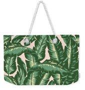 Palm Print Weekender Tote Bag by Lauren Amelia Hughes