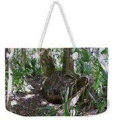 Palm Roots Weekender Tote Bag