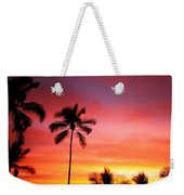 Palm Silhouettes Weekender Tote Bag