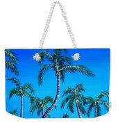 Palm Tops Weekender Tote Bag