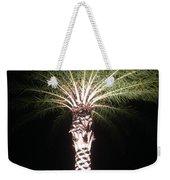 Palm Tree At Night Weekender Tote Bag