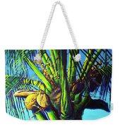 Palm Tree At Sunset Weekender Tote Bag