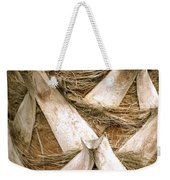 Palm Tree Bark Weekender Tote Bag