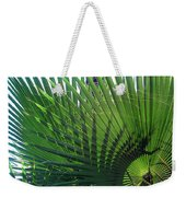 Palm Tree, Big Leafs Weekender Tote Bag